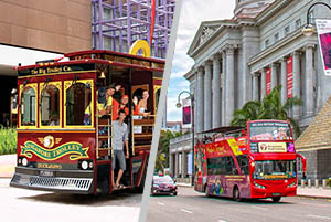 Classic Trolley with Singapore 7